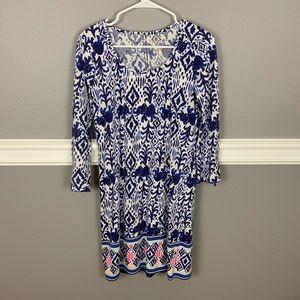 Lilly Pulitzer Beautiful Long Sleeve Stretch Dress